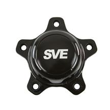Mustang SVE Drag Wheel Center Cap Black (94-14)