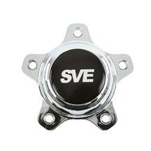 Mustang SVE Drag Wheel Center Cap Chrome (94-14)