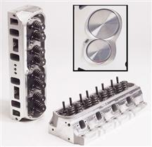 Trick Flow Twisted Wedge Aluminum Cylinder Heads 170cc Small Block Ford
