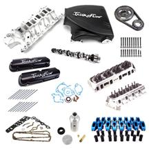 Mustang Trick Flow Top End Engine Kit Stage 2  Black (87-93) 5.0