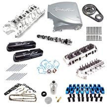 Mustang Trick Flow Top End Engine Kit Stage 2  Silver (87-93) 5.0