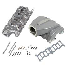 Mustang Trickflow R-Series Intake Manifold  w/ 90mm Throttle Opening - Silver (86-95) 5.0