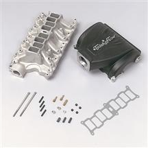 "1986-95 Mustang 5.8L Black Trick Flow ""R"" Series Intake Manifold with 75mm Throttle Opening"