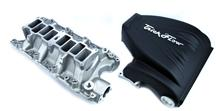 Mustang Trickflow R-Series Intake Manifold  with 90mm Throttle Opening, Black (86-95) 5.0L