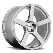 Mustang TSW Panorama Wheel - 19x8.5 Silver w/ Mirror Cut (05-14)