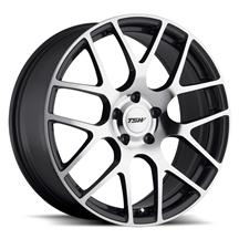Mustang TSW Nurburgring Wheel - 19x8.5 Gun Metal w/ Mirror Cut (05-14)