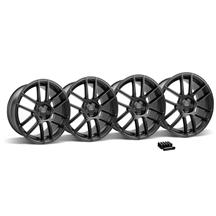 Mustang Velgen VMB6 Wheel & Lug Nut Kit - 20x9 Satin Black (05-14)