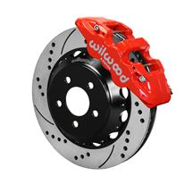 "Mustang Wilwood AERO6 Front Brake Kit - 14""  - Red (15-16)"