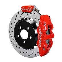 "Mustang Wilwood AERO6 Rear Brake Kit - 14""  - Red (15-16)"