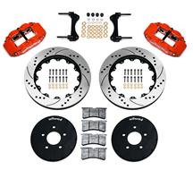 "Mustang Wilwood Superlite 6R Front Brake Kit - 14"" (94-04)"