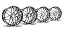 Mustang Downforce Wheel Kit - 20x8.5/10 Platinum (05-14)