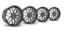 Mustang Downforce Wheel Kit - 20x8.5/10 Matte Black (05-14)