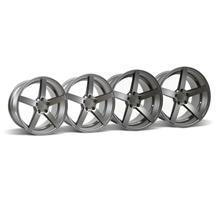 Mustang Rovos Durban Wheel Kit - 18x9/10.5 Satin Gunmetal (94-04)