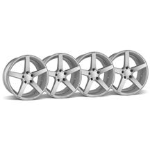 Mustang Rovos Durban Wheel Kit - 18x9 Satin Silver (94-04)