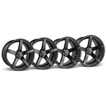 Mustang Rovos Durban Wheel Kit - 18x9/10.5 Satin Black (94-04)