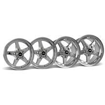 Mustang SVE Drag Wheel Kit 15X3.75/10 Chrome (05-10)