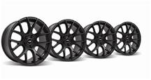 Mustang SVE Drift Wheel Kit - 18x9/10 Flat Black (05-15)