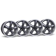 Mustang Bullitt Wheel Kit - 18x9 Anthracite w/ Mirror Lip (05-16)