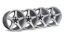 Mustang 03 Cobra Wheel Kit - 17x9/10.5 Machined (94-04)