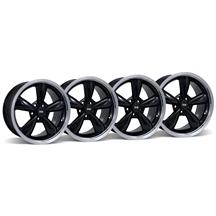 Mustang Bullitt Wheel Kit - 18x9 Black (05-16)