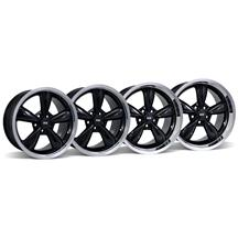 Mustang Bullitt Wheel Kit - 18x9/10 Black (05-16)