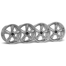 Mustang Bullitt Wheel Kit - 18x9/10 Chrome (05-16)
