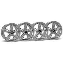 Mustang Bullitt Wheel Kit - 18x9 Chrome (05-16)
