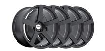 Mustang TSW Panorama Wheel Kit - 19x8.5, 9.5 Matte Black (05-15)