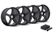 Mustang TSW Panorama Wheel Kit - 20x8.5, 10 Matte Black (2015)
