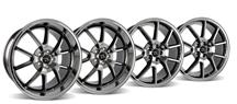 Mustang FR500 Wheel Kit - 20x8.5/10 Black Chrome (05-14)