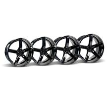 Mustang DF5 Wheel Kit - 20x8.5/10 Piano Black (05-15)