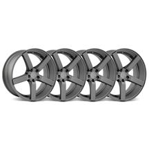 Mustang DF5 Wheel Kit - 20x8.5 Matte Gunmetal (05-15)