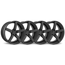 Mustang DF5 Wheel Kit - 20x8.5 Flat Black (05-15)
