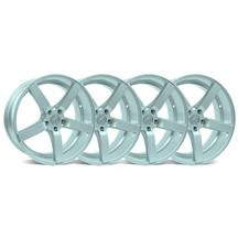 Mustang DF5 Wheel Kit - 20x8.5 Silver (05-15)
