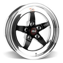Mustang Weld RT-S S71 Drag Wheel - 15x4 Black w/ Polished Lip (94-10)