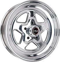 "Mustang Weld Racing Pro-Star Wheel - 15x3.5"" Polished (94-04)"