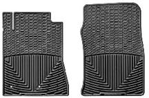 2010-2012 MUSTANG WEATHER TECH FLOOR MATS, BLACK FRONT