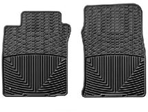 2005-2009 MUSTANG WEATHER TECH FLOOR MATS, BLACK FRONT