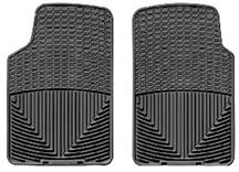 1979-04 MUSTANG WEATHER TECH FLOOR MATS, BLACK FRONT