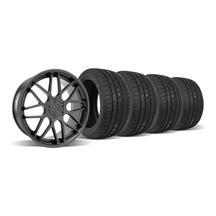 Mustang Downforce Wheel & Tire Kit  20x8.5 Graphite (05-14)