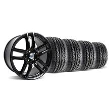 Mustang Boss 302 S Wheel & Tire Kit 19X9/10 Gloss Black (05-14)