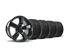 "F-150 SVT Lightning Wheel & Tire Kit - 18x9.5"" Matte Black (99-04)"
