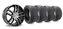 Mustang Ford Racing 2012 Boss 302 Laguna Seca Wheel & Tire Kit 19x9 (05-14)