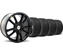 Mustang Ford Racing Track Pack Wheel & Nitto Tire Kit  Black (05-14)