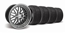 Mustang SVE Series One Wheel & Nitto Tire Kit Anthracite  (94-04)