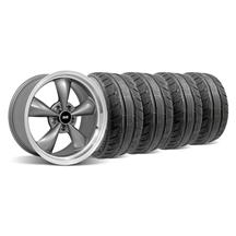 Mustang Bullitt Wheel & Tire Kit - 18x9 Anthracite (94-04)
