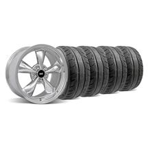 Mustang Bullitt Wheel & Tire Kit - 18x9 Chrome (94-04)