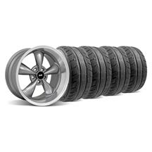 Mustang Bullitt Wheel & Tire Kit - 18x9/10 Anthracite (94-04)