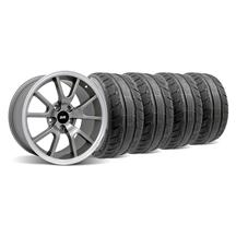 Mustang FR500 Wheel & Tire Kit - 18x9 Anthracite (94-04)