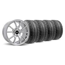 Mustang FR500 Wheel & Tire Kit - 18x9 Chrome (94-04)